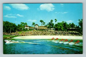 Cypress Gardens FL-Florida, The Aquamaids, Chrome Postcard