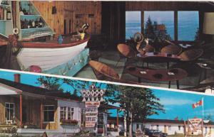 2-views,  Au Coin de la Baie Motel & Restaurant,  Metis Beach,  Quebec,  Cana...