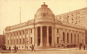 HIBERNIA BANK San Francisco, California ca 1910s Vintage Postcard