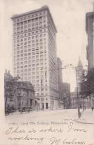 Land Title Building, Philadelphia , Pennsylvania , PU-1907