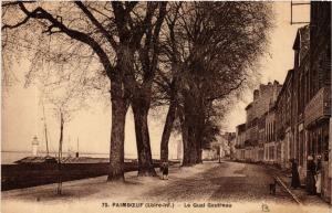 CPA  Paimboeuf (Loire-inf.) - Le Quai Gautreau   (587961)