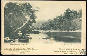 new zealand, Preservation Inlet (1900s) Special Edition