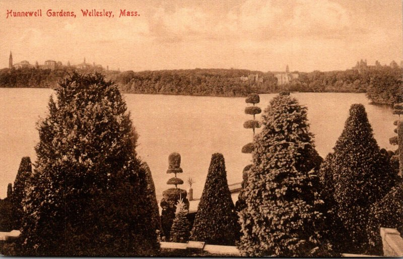 Massachusetts Wellesley Hunnewell Gardens