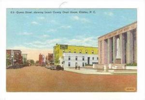 Court House & Queen Street, KINSTON , North Carolina, 30-40s