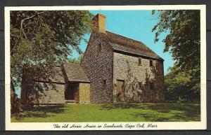 Massachusetts, Sandwich - The Old Hoxie House - [MA-229]