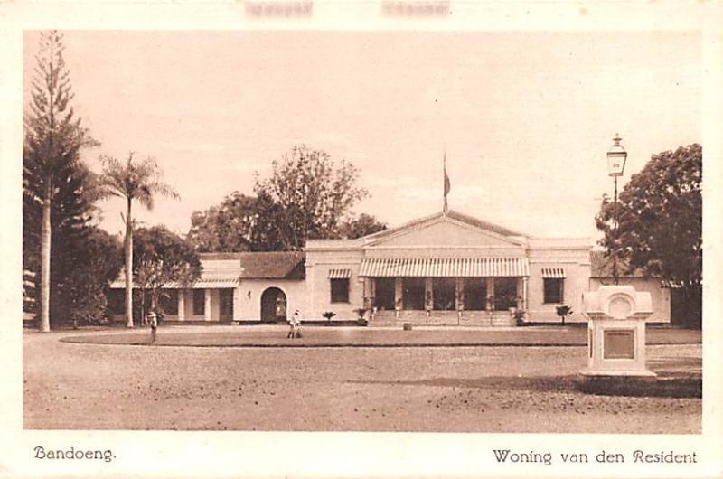 Bandoeng Indonesia, Republik Indonesia Woning van den Resident Bandoeng Wonin...