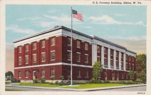 ELKINS, West Virginia, 1930-1940's; U.S. Forestry Building