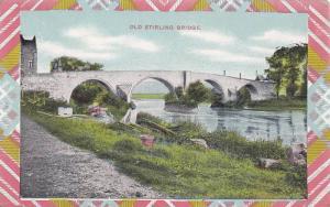 Old Stirling Bridge, Stirlingshire, Scotland, UK, 1900-1910s