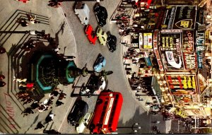 England London Piccadilly Circus 1966