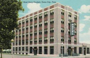 UNION CITY , Tennessee , 1930s ; Hotel Davy Crockett