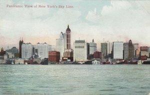 NEW YORK CITY , New York , 1910 ; Panoramic View of New York's Sky Line