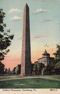 Soldiers Monument Harrisburg Pennsylvania 1911