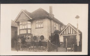 Unlocated Postcard - Unknown Location - Detached House   BH6487