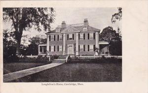 Longfellows Home Cambridge Massachusetts
