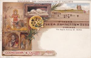 Souvenir des Catacombes de St. Calliste, Via Appia Antica 33, ROMA, Lazio, It...