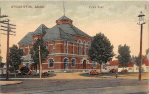 Massachusetts Stoughton  Town Hall