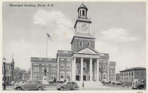 DOVER, New Hampshire, PU-1945; Municipal Building