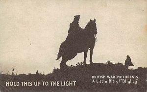 Transparencies Hold to Light British War Unused