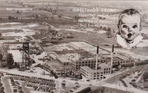 RP; FREMONT, Michigan, 1930-1950's; Gerber Company, The Home Of America's Best