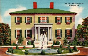 Virginia Richmond The Governor's Mansion