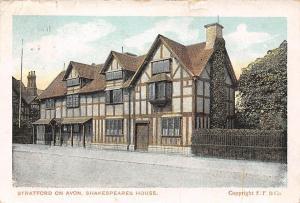 Stratford on Avon Shakespeares House Maison 1917