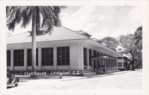 Panama Canal Zone Clubhouse Real Photo