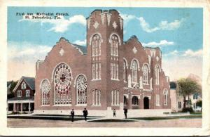 Florida St Petersburg First Avenue Methodist Church 1917