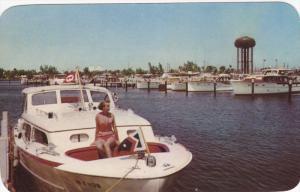 FORT LAUDERDALE, Florida, 1940-1960's; Bahia Mar Yacht Basin, Boats