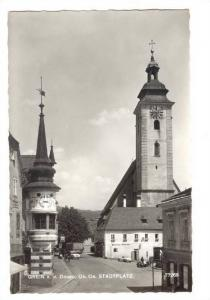 RP: Grein a. d. Donau, Ob. Oe. , district Perg in Upper Austria, Austria, 30-...