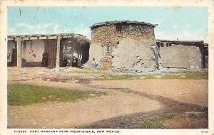 Fort Manzana near Mountainair - Mountainair, New Mexico NM