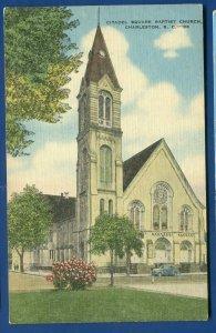 Citadel Square Baptist Church Charleston South Carolina sc postcard