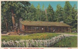 YELLOWSTONE National Park , 1900-10s ; Roosevelt Lodge
