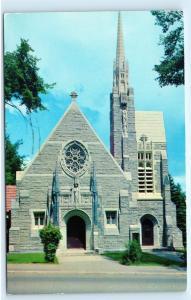 1957 St Marys R C Church Western Avenue Augusta Maine ME Vintage Postcard B04