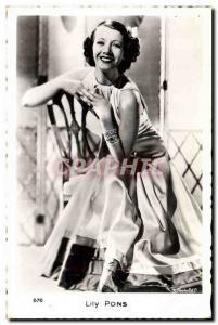 Postcard Modern Cinema Lily Pons