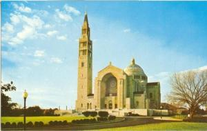 National Shrine of the Immaculate Conception unused Postcard