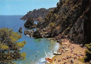 Spain Costa Brava Calella de Palafrugell El Golfet Beach Playa