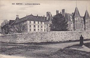 NANTES, Loire Atlantique, France, 1900-1910´s; Le Grand Seminaire