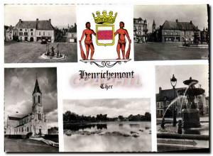 Postcard Modern Henrichemont