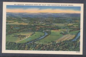 Virginia colour PC Shenandoah Valley Massanutten Mtn, unused