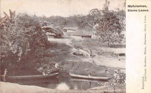 Sierra Leone Mafulomoo canoe boats pirogue