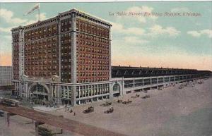 Illinois Chicago La Salle Street Railway Station