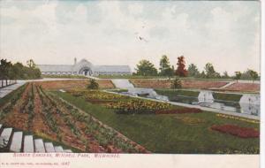 Wisconsin Milwaukee Sunken Gardens In Mitchell Park 1908