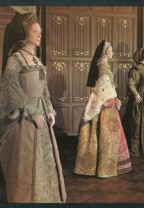 Jane Seymour Costume in Six Wives Of Henry VIII BBC TV Show Postcard