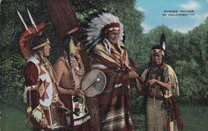Pawnee Indian Chiefs In Attire 1941