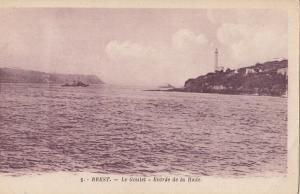 France Brest le goulet entree de la rade