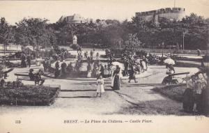 La Place Du Chateau, Castle Place, Brest (Finistere), France, 1900-1910s