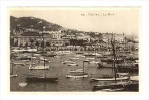 RP, Le Port, Boats, Cannes (Alpes Maritimes), France, 1930-1950s