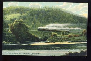 Sharon, Vermont/VT Photo Postcard, New England States Limited Railroad/RR