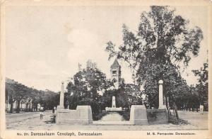 German East Africa, Tanzania Dar Es Salaam, Daressalaam Cenotaph, M.S. Fernandes