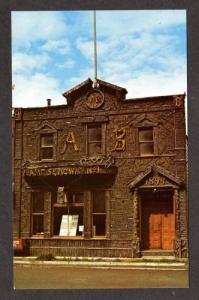 AK Arctic Brotherhood Hall SKAGWAY ALASKA Postcard PC